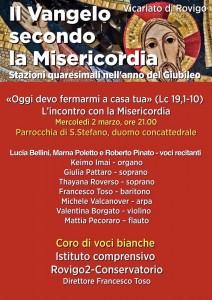 L'incontro con la Misericordia – Parrocchia S. Stefano – Duomo di Rovigo